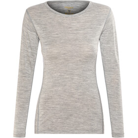 Devold Breeze Shirt Women Grey Melange